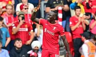 Liverpool bate o Crystal Palace e dorme na ponta do Inglês