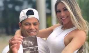 Destaque do Atlético-MG, Hulk anuncia que será pai pela quarta vez: 'Coração transborda de felicidade'