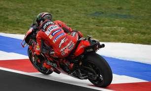 Confira pilotos que avançam direto para Q2 da classificação do GP de San Marino da MotoGP