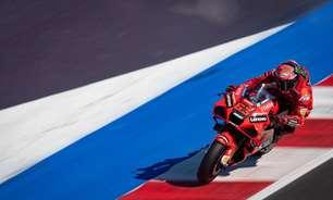 Bagnaia brilha em Misano e faz pole em 1-2 da Ducati com Miller. Quartararo cai e é 3º