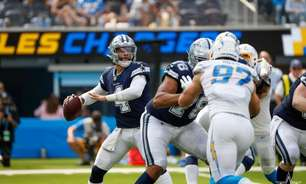 Emocionante! Dallas Cowboys supera o Los Angeles Chargers no estouro do relógio