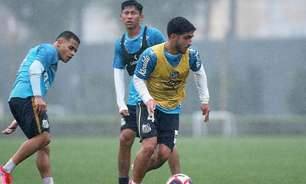 Carille diz que Lacava deve ganhar chances em breve no Santos