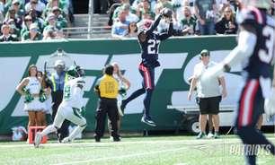 Zach Wilson lança quatro interceptações e New England Patriots derrota o New York Jets