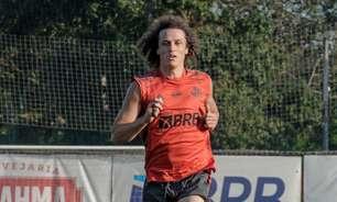 David Luiz treina em CT e não estreia pelo Fla contra Grêmio