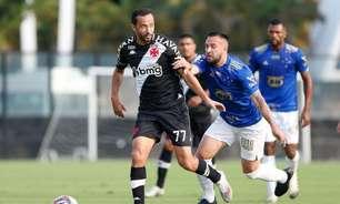 Na volta do público em São Januário, Vasco domina o Cruzeiro, mas novamente vacila no fim e empata