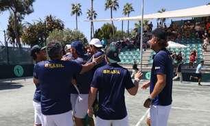 Brasil vence Líbano e está no playoff mundial da Copa Davis