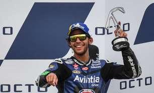 """Bastianini vibra com primeiro pódio na MotoGP em Misano: """"Sabia que era capaz"""""""