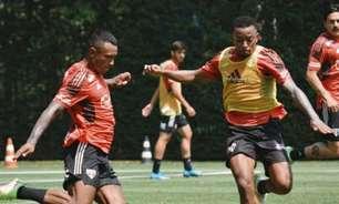 Marquinhos treina com o grupo e se aproxima de retorno no São Paulo