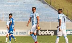Marcão celebra primeira chance como titular do Londrina: 'Dá confiança para a sequência'