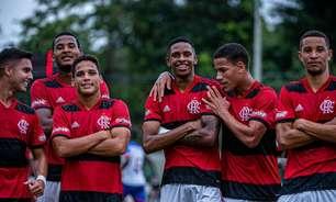 Flamengo vence o Bahia pelo Campeonato Brasileiro sub-20