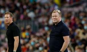 Koeman diz confiar em recuperação do Barça e descarta preocupado com futuro
