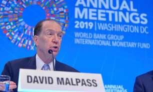 """Chefe do Banco Mundial diz que pressão para alterar dados de relatório """"fala por si"""""""