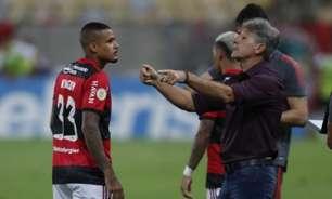 Renato vê méritos do Grêmio em vitória sobre o Flamengo e explica saída de Everton Ribeiro