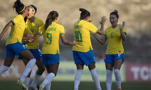 Marta faz golaço, e Seleção feminina atropela a Argentina no segundo amistoso na Paraíba