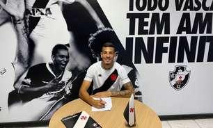 Zé Vitor, zagueiro do Vasco sub-20, renova contrato até janeiro de 2024