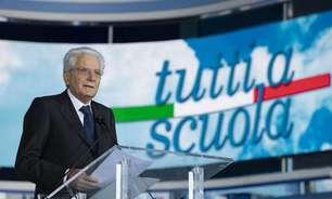 Presidente da Itália diz que vacinas manterão escolas abertas