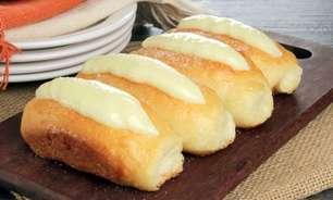 Receitas de pãozinho doce com creme dignas de padaria