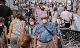 Itália tem mais 3.377 casos e 67 mortes em pandemia
