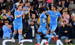 Manchester City goleia o Wycombe e avança na Copa da Liga Inglesa