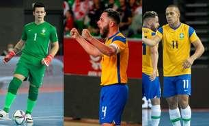 CBF, renovação, futuro... Antes do mata-mata do Mundial, trio da Seleção de futsal fala com o L!