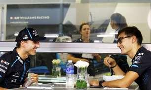 """Russell elogia e diz que """"teve muita sorte"""" em ter Kubica como companheiro de equipe"""