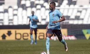 Diego Gonçalves parabeniza DM do Botafogo em recuperação de lesão e diz que se sente bem: 'Quero jogar'
