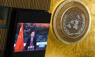Na ONU, Xi Jinping defende multilateralismo e critica intervenção externa