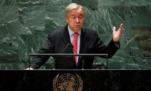 Guterres repreende mundo por má distribuição de vacinas