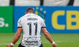 Giuliano comenta primeiro gol pelo Corinthians e projeta sua estreia em Dérbi: 'Semana diferente'