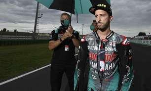 """Dovizioso destaca característica única da Yamaha na MotoGP: """"Precisa de jeito especial"""""""