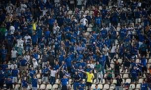 Com ingressos a partir de R$ 20, Cruzeiro inicia venda para duelo com o CSA no Independência