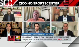 Zico é contra Fla abrir mão do Brasileirão pela Libertadores
