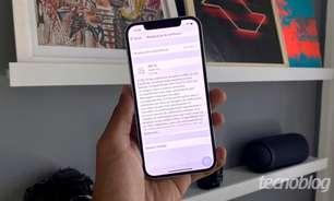 Bug no iOS 15 diz que armazenamento está quase cheio mesmo com espaço livre