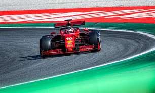 Ferrari decide por nova versão de motor para Rússia e faz Leclerc largar do fim do grid