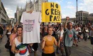 Itália desiste de suspender trabalhadores sem passe sanitário