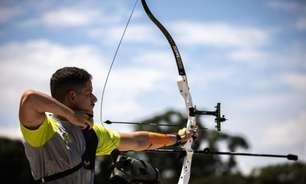 Marcus D'Almeida se classifica em segundo para as batalhas do Mundial de tiro com arco nos EUA