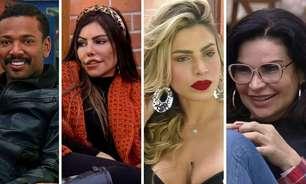 Borel, Liziane, Solange e Erika estão na roça; veja como foi a votação