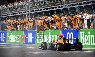 """McLaren exalta vitória em Monza e pede """"dois pilotos fortes"""" para fim da temporada"""