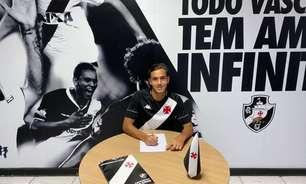 Meninos da Colina: Guga Maia, meia da equipe sub-17, assina contrato profissional com o Vasco até 2025