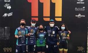 Alunos da Escolinha de Triathlon se destacam no Triathlon Brasil 111