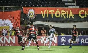 Resultado em Salvador interrompe sequência recente de vitórias do Coritiba