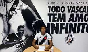 GB, da equipe sub-17, assina seu primeiro contrato profissional com o Vasco até setembro de 2025