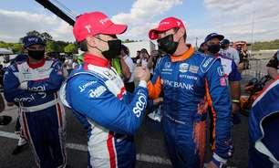 """Franchitti diz que Dixon vai ser """"ajudante perfeito"""" para Palou na decisão da Indy"""
