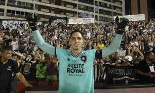 A linha do tempo de Gatito Fernández: goleiro completa um ano sem jogar pelo Botafogo