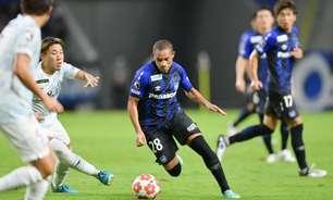 Wellington Silva, ex-Flu, marca em goleada do Gamba Osaka