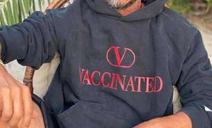 Valentino cria edição especial de moletom para apoiar vacinação