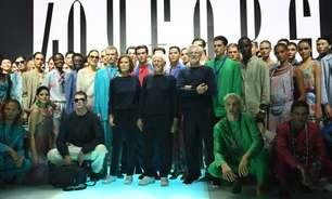 Emporio Armani comemora 40 anos com desfile e exposição em Milão