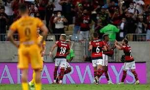 Vitória do Flamengo na Libertadores atinge 15 pontos e bate recorde de audiência da TV paga