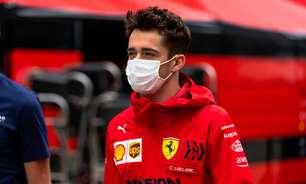 """Leclerc vê melhora com novo motor em Sóchi, mas mostra cautela: """"Difícil ultrapassar"""""""