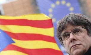 Ex-presidente da Catalunha deixa cadeia na Itália
